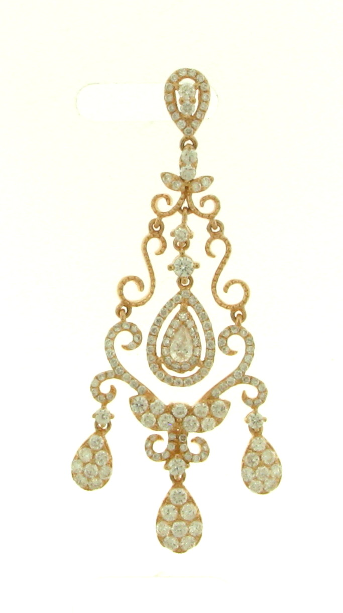 NEC063071 Diamond Pendant Cocktail